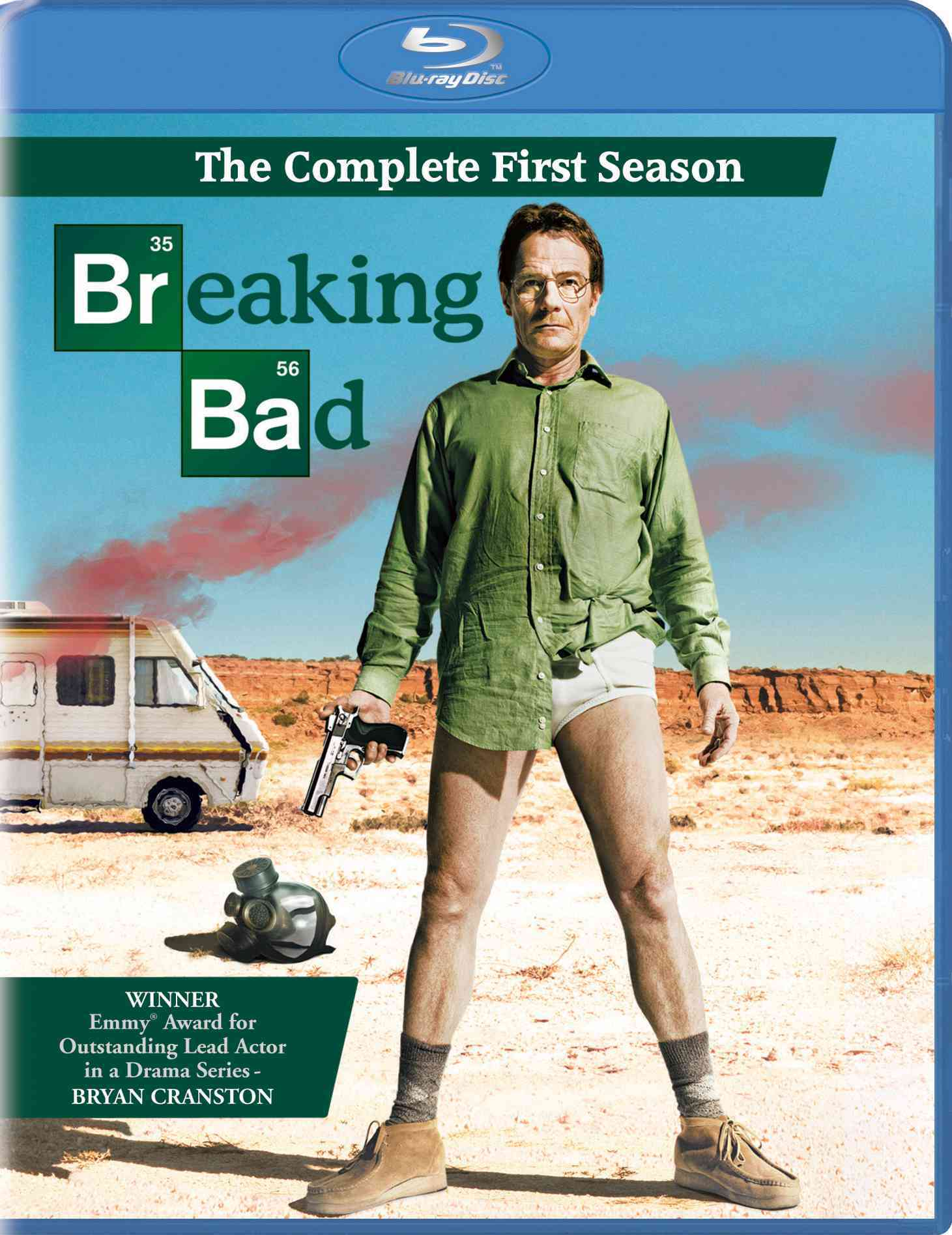 BREAKING BAD:COMPLETE FIRST SEASON BY BREAKING BAD (Blu-Ray)
